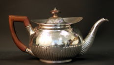 Antique Solid Sterling Silver Tea Pot, Edinburgh 1802, William & Patrick Cunningham