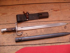 Argentinian bayonet M 1909 Mauser infantry weapon