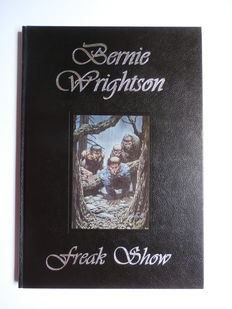 Bernie Wrightson - Freak Show - Leatherette hc + Signed bookplate - 1st edition - (1997)