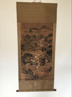 Silk painting - China - second half 20th century