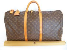 Louis Vuitton - Keepall 60 Travel bag - with full set of accessories