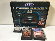Sega Mega Drive 2 (Boxed) + 4 topgames, with for example Sonic & Tale Spin