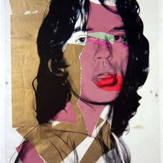 Andy Warhol (after)- Mick Jagger, 1975