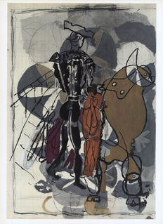 Georges Braque (after) - Le Torero