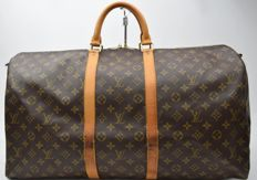Louis Vuitton - Boston Keepall 55 - Travel Bag