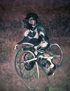 Francis Bacon - Georges a Bicyclette
