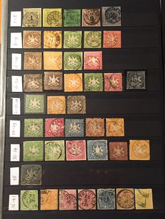 Wurttemberg 1851/1920 - Collection
