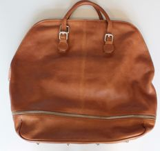 T. Michael, leather travel bag