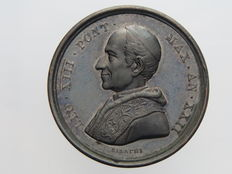 "Papal States – 1900 Medal – ""Porta Domini"" – Leon XIII opus Bianchi"