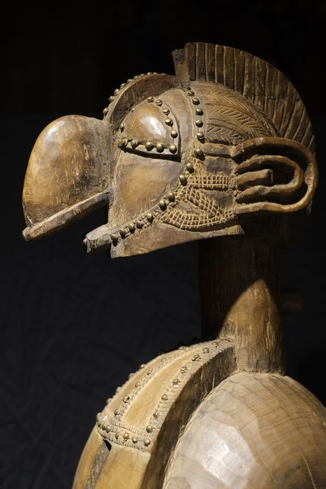 Nimba D'mba Headdress Shoulder Mask - BAGA - Guinea