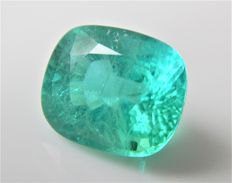 Paraiba Tourmaline – neon-blue – 8.10 ct