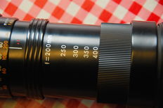 Tamron telephoto zoom lens 200 mm-400 mm
