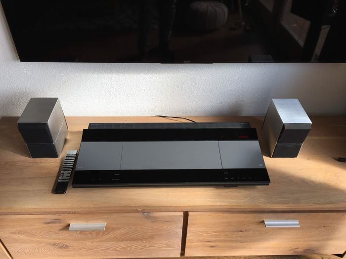 bang and olufsen beocenter 8500 beolink 1000 remote control and a pair of nice beovox cx50. Black Bedroom Furniture Sets. Home Design Ideas