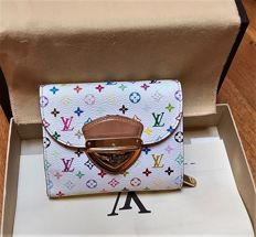 "Louis Vuitton - Multicoloured wallet, ""Joey"" model"