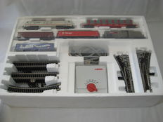"Märklin H0 - 92805 - Starter set ""Freight train of the DB AG with BR 12X"", with K-tracks"