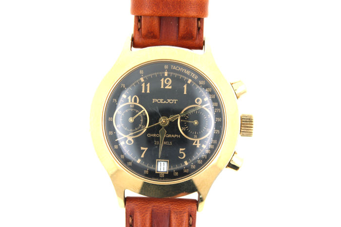 POLJOT chronograph automatic men's watch
