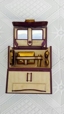 Travel set. First half of the 20th century.