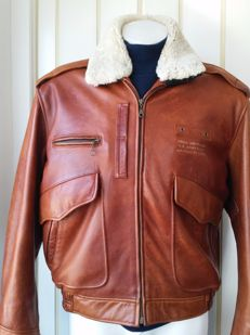 Lee Trevor - All season leather pilot jacket