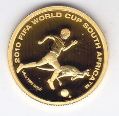 "Australia – 25 dollars 2009 ""2010 FIFA World Cup South Africa"" – ¼ oz Goud"