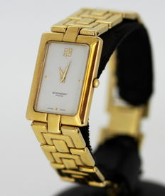 Givenchy Paris Ladies Gold Plated Quartz Swiss Made Wristwatch