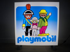 Advertising sign PLAYMOBIL (R) - late 20th century