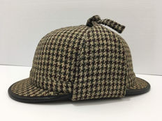 Chas Owen & Co. - Deerstalker Tweed Shooting Hat Sherlock Cork Hunting Helmet