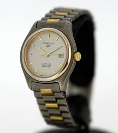 Certina DS Ladies Quartz Titanium Vintage Wristwatch