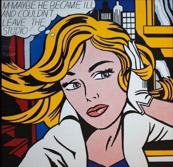 Roy Lichtenstein (after) - Maybe