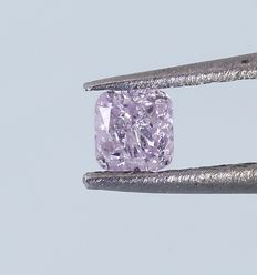 0.12 ct IGI Certified Natural Fancy Pink Diamond