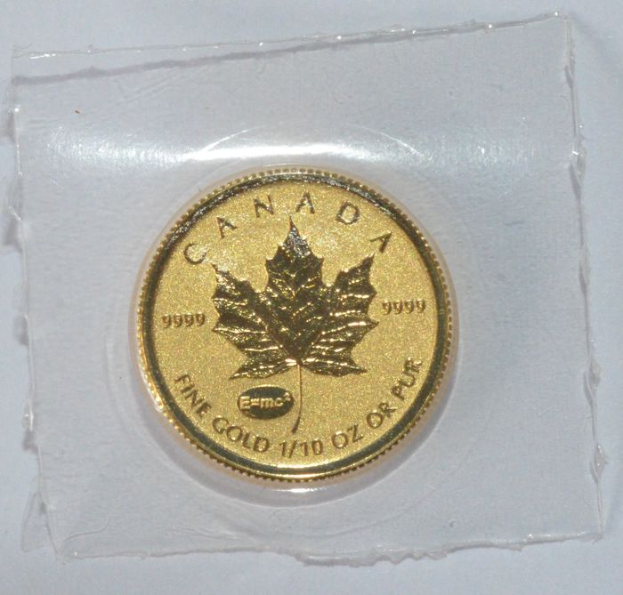 Canada - 5 Dollars 2015 'Maple Leaf' - 1/10 oz gold