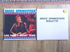 Bruce Springsteen Lot Of 2 Double  Lp ,   Double Lp Live Los Angeles 5/06/1992 And Double Lp Live Worchester 29/02/1988