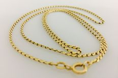 18 kt yellow gold necklace - 60 cm
