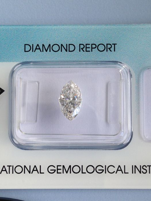 1.08ct, marquise, G SI1