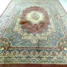 """China – 357 x 264 cm – """"XL oriental rug in pastel shades – in beautiful condition"""""""