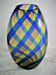 Laura Diaz de Santillana - Vase 'Magic Colours' for Rosenthal (30 cm).