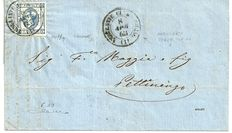 Kingdom of Italy, 1863 – Document with Sassone #12