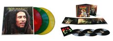 Bob Marley-Sun Is Shining x 3 Coloured Vinyl LP + Bob Marley- Live Deluxe x 3 180g Vinyl- Both mint and Factory Sealed.