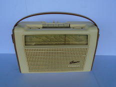Portable Philips Colette L4D91T from 1959 in top condition with FM