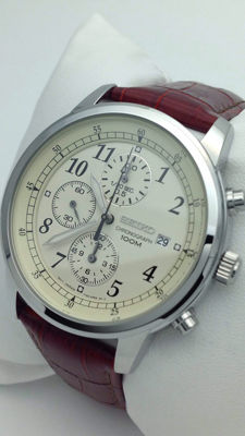 Seiko men's chronograph – Quartz watch – Men's chronograph watch