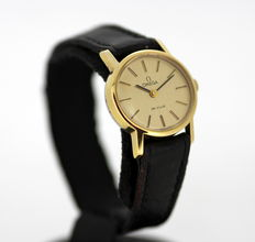 Omega De VILLE Ladies Vintage Gold Plated Manual Winding Swiss Made Wristwatch