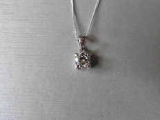18k Gold Diamond Pendant - 1ct  I  I1