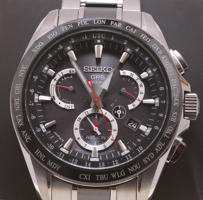 Seiko Astron GPS Solar SSE041J1 – men's wristwatch – new