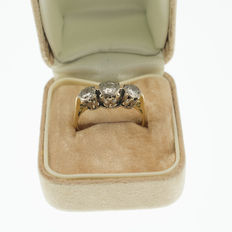 Diamond Trilogy Ring 0.52cts