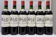 1970, Chateau La Tour de Mons, Margaux, France, 6 bottles