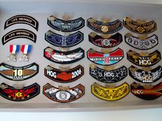 Harley-Davidson HOG pins & patches