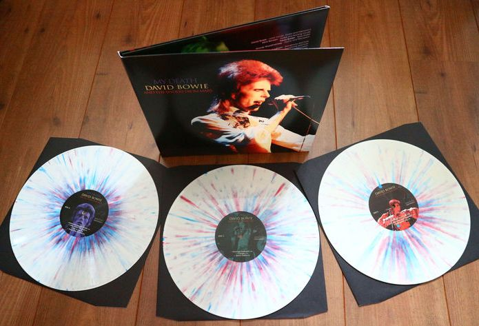 David Bowie- My Death 3lp splatter vinyl in triple gatefold sleeve/ Limited to 500 copies worldwide/ MINT (still sealed!) & already out of print!
