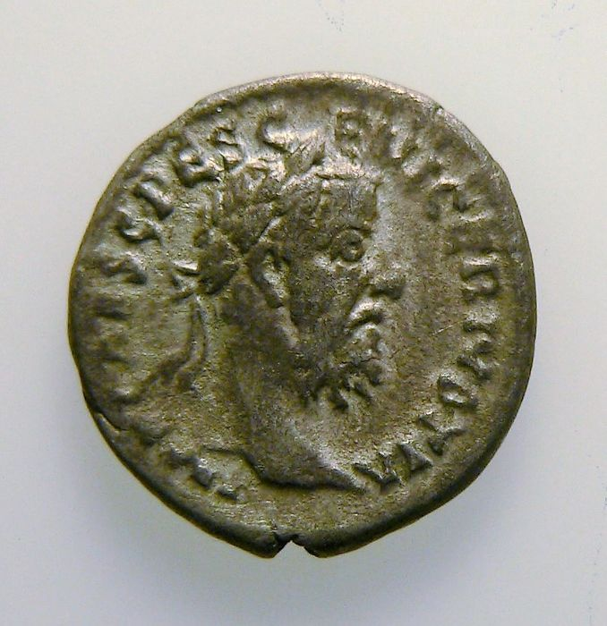 Roman Empire - Pescennius Niger - denarius - post 193 - certified