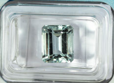 Blue Aquamarine - 3.02 ct