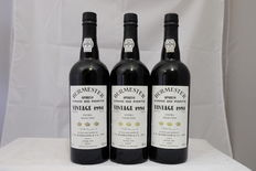 1994 Burmester Extra Selected Vintage Port, Portugal – 3 bottles (75cl)