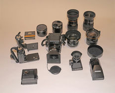 Zenza Bronica SQ-Ai 6x6 camera + 5 lenses and many extras